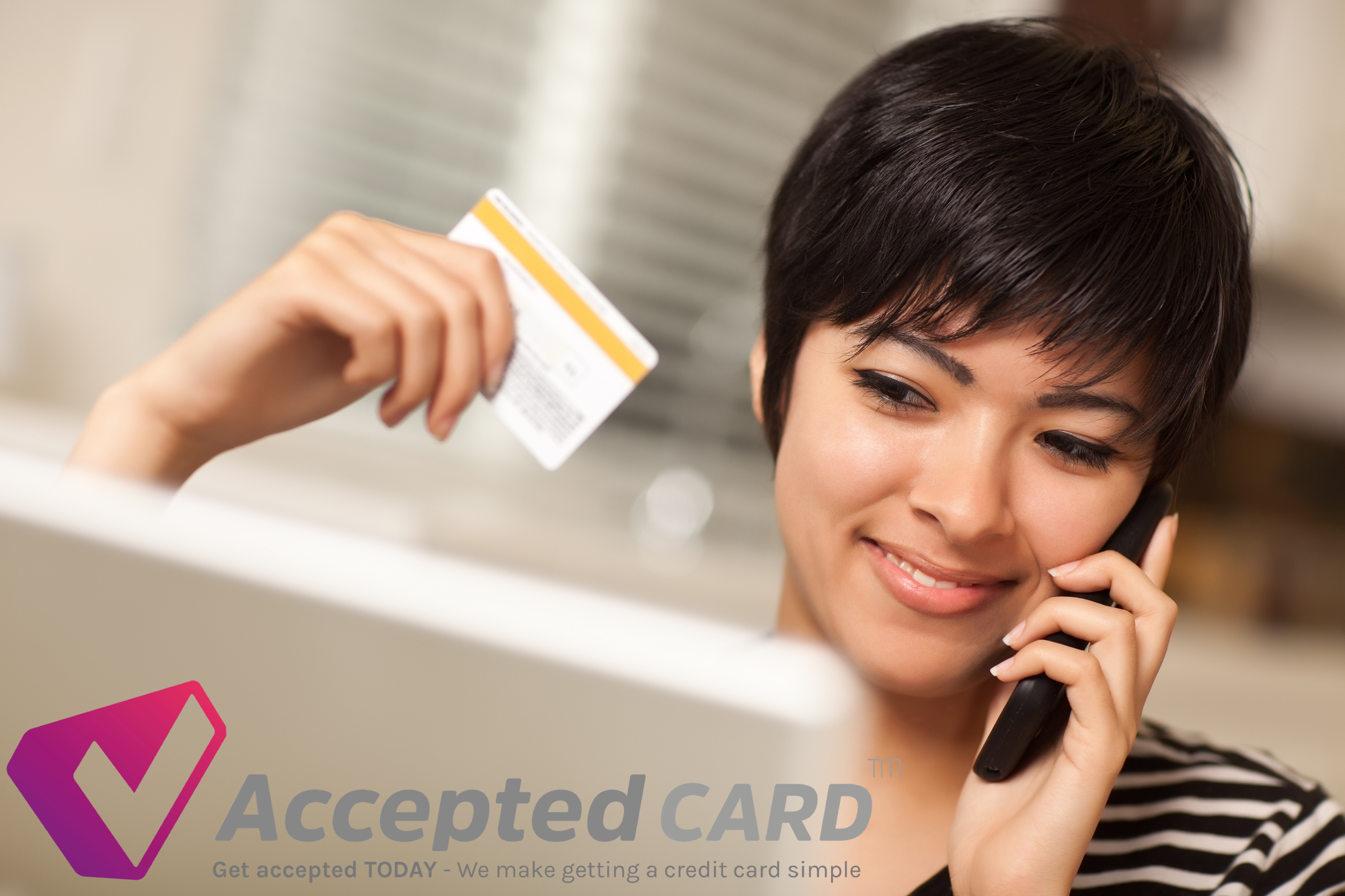 Instant credit cards for bad credit! Accepted Credit Card UK