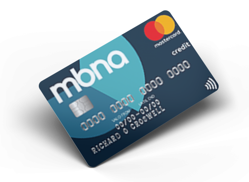 Mbna Fluid Card